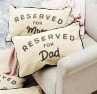 """Kudde """"Reserved for dad"""""""